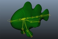 Free Body mechanic Fish Rig for Maya 1.0.0