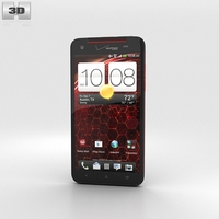 HTC Droid DNA Black 3D Model