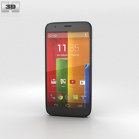 Motorola Moto G Black 3D Model