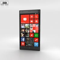 Nokia Lumia 1520 Black 3D Model