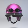 09 59 56 56 helmet motorcycle oldschool retro caferacer pink2 4