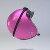 09 59 57 827 helmet motorcycle oldschool retro caferacer pink4 4