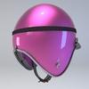 10 00 08 829 helmet motorcycle oldschool retro caferacer pink10 4