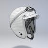 10 00 11 873 helmet motorcycle oldschool retro caferacer pink13 4