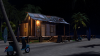 Beach Night 3D Model