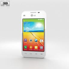 LG L35 White 3D Model