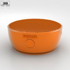 Nokia Portable Wireless Speaker MD-12 Orange 3D Model