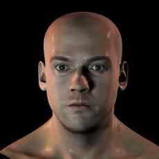 3d human head v1 3D Model