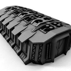 Sci-fi Building 1505 3D Model