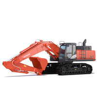 Excavator Hitachi ZX470 3D Model