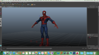 Free Spider-Man(Rigged) for Maya 1.0.0