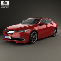 Acura TLX 2015 3D Model