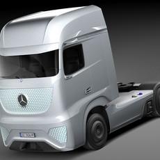 Mercedes-Benz Future Truck FT 2025 3D Model