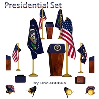 Presidential Set 3D Model