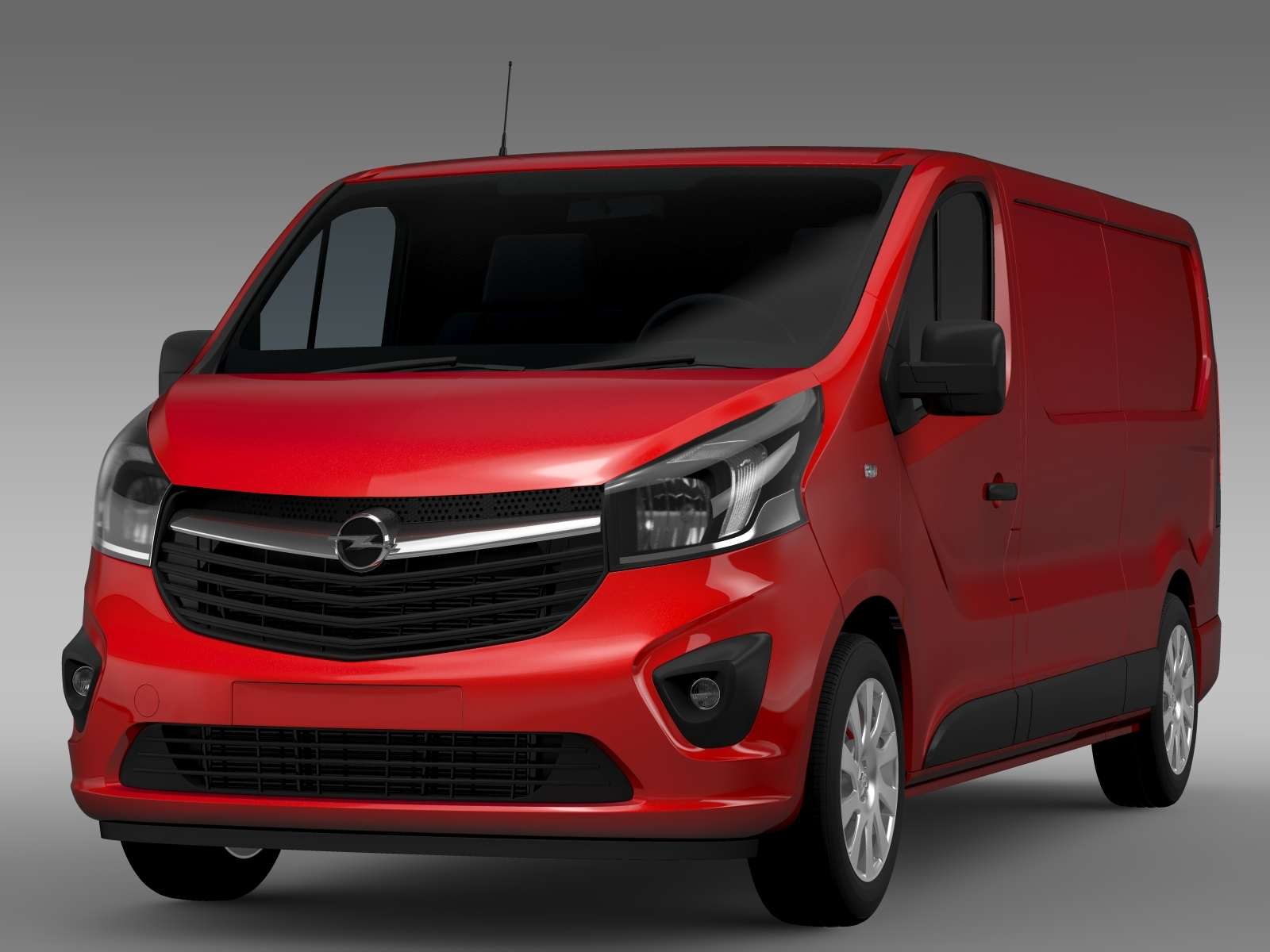 opel vivaro l2h1 lwb 2015 3d model. Black Bedroom Furniture Sets. Home Design Ideas