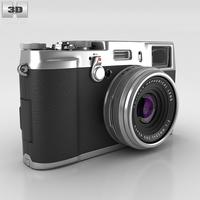 Fujifilm FinePix X100S Silver 3D Model