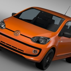 VW Cheer UP 2015 3D Model