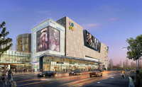 City shopping mall 112 3D Model