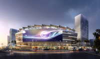City shopping mall 113 3D Model