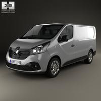 Renault Trafic Panel Van 2014 3D Model