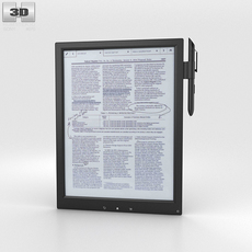 Sony Digital Paper 3D Model