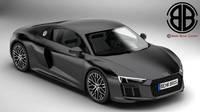 Audi R8 V10 2016 3D Model