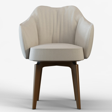 Chair Giorgetti Elisa 3D Model