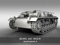 StuG III - Ausf. A 3D Model