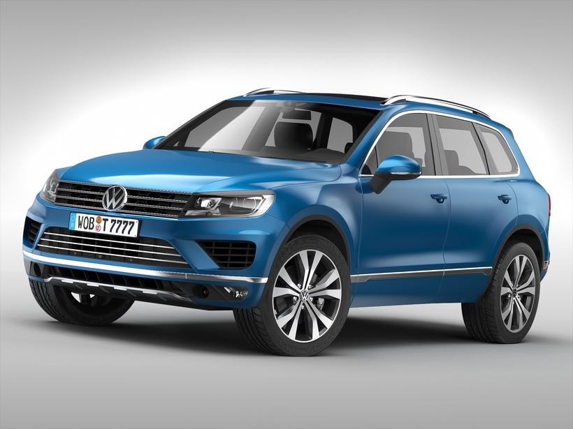 Volkswagen Touareg (2015) 3D Model
