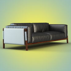 Sofa Urban by Giorgetti 3D Model