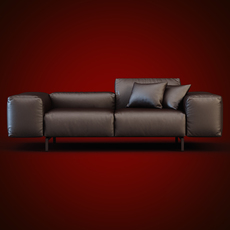 Scighera Sofa Cassina 3D Model