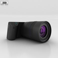Lytro Illum Black 3D Model