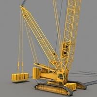 Crawler Crane 3D Model