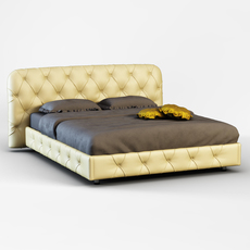 Flair De Luxe Bed 3D Model