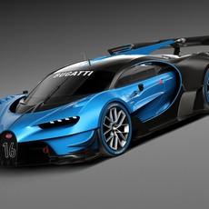 Bugatti Vision Gran Turismo Concept 2015 3D Model