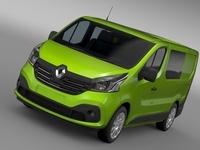Renault Trafic Combi 2015 3D Model
