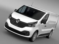 Renault Trafic Van 2015 3D Model