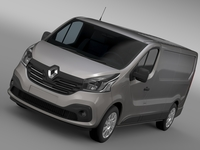 Renault Trafic Van L2H1 2015 3D Model