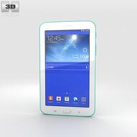 Samsung Galaxy Tab 3 Lite Green 3D Model