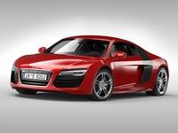 Audi R8 V10 Coupe (2013) 3D Model