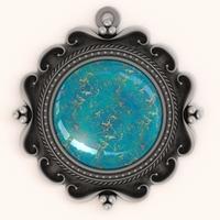 Torquoise Pendant 3D Model