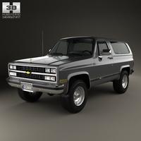 Chevrolet Blazer (K5) 1989 3D Model
