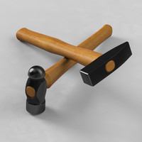 Woodcraft Hammers 3D Model