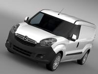 Opel Combo LWB Cargo (D) 2015 3D Model