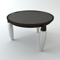 Round Tripod Table 3D Model