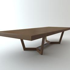 Obi Ceccotti Collezioni table desk 3D Model