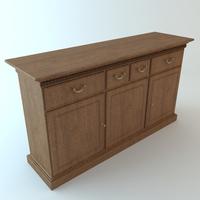 Credenza Cabinet 2 3D Model