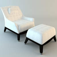 Giorgetti Normal Armchair 3D Model