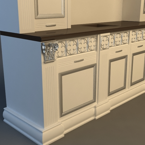 Product collection kitchen cabinets 3d model for Kitchen cabinets models