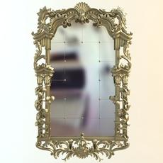 Mirror antique 3D Model